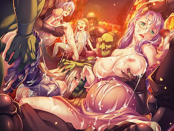 黒獣・改 〜 気高き聖女は白濁に染まる 〜