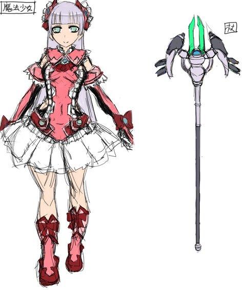 触手×魔法少女