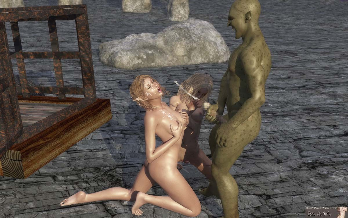 Sanda and the Troll slaver
