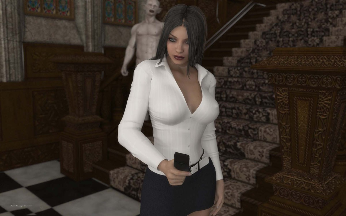 Tanya at the Mansion