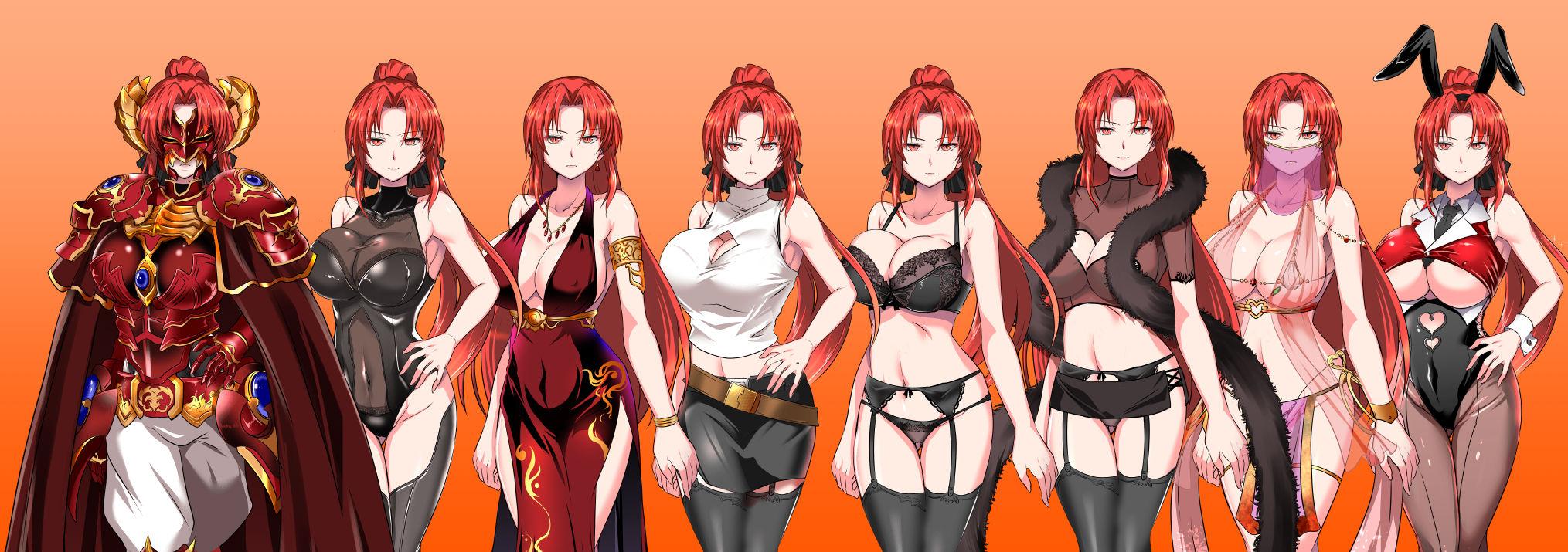 赤髪の鬼神