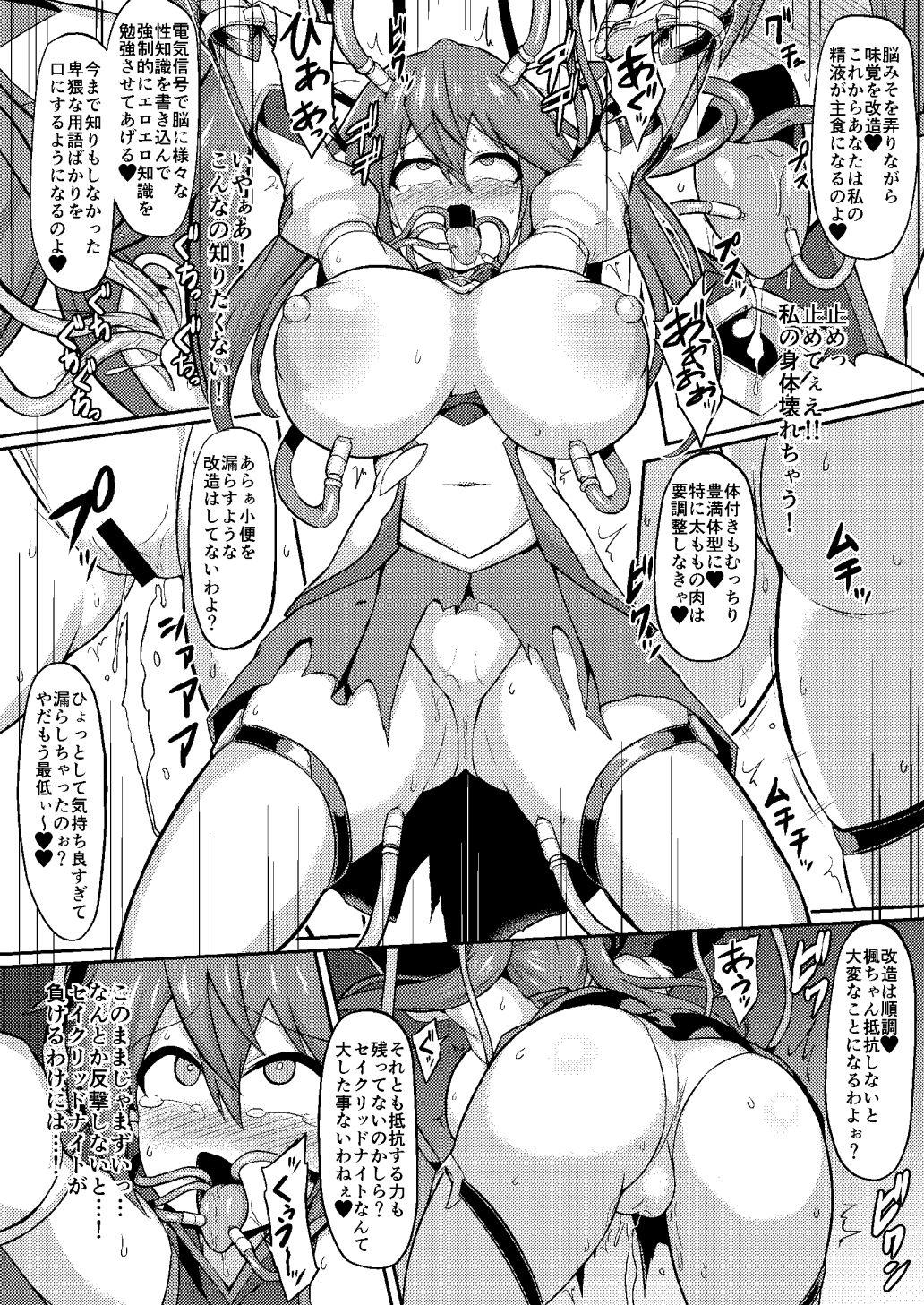 聖装煌姫セイクリッドフレア-屈辱の強●服従洗脳-