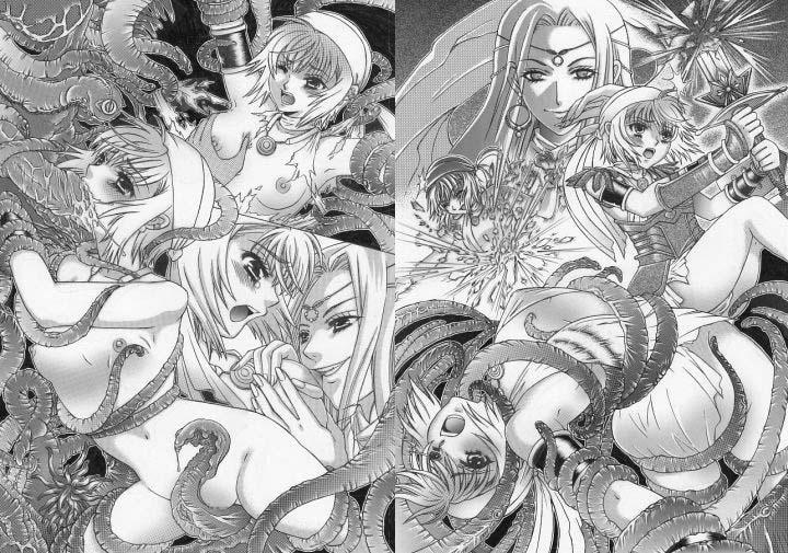 邪教淫獄に散る聖戦の姫姉妹