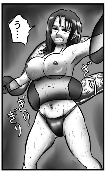 蛸VS海女