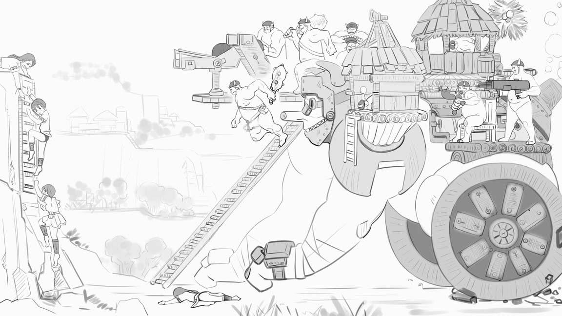 突撃ゴブリン要塞
