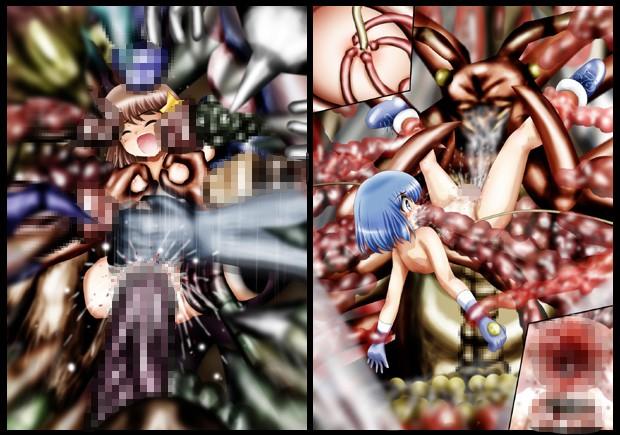 『不思議世界-Mystery World-ののな24』〜ののなの続四肢消滅双成り輪姦淫地獄とちふゆの突撃〜