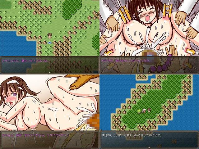 スフィアちゃんの全裸野外露出○辱RPG