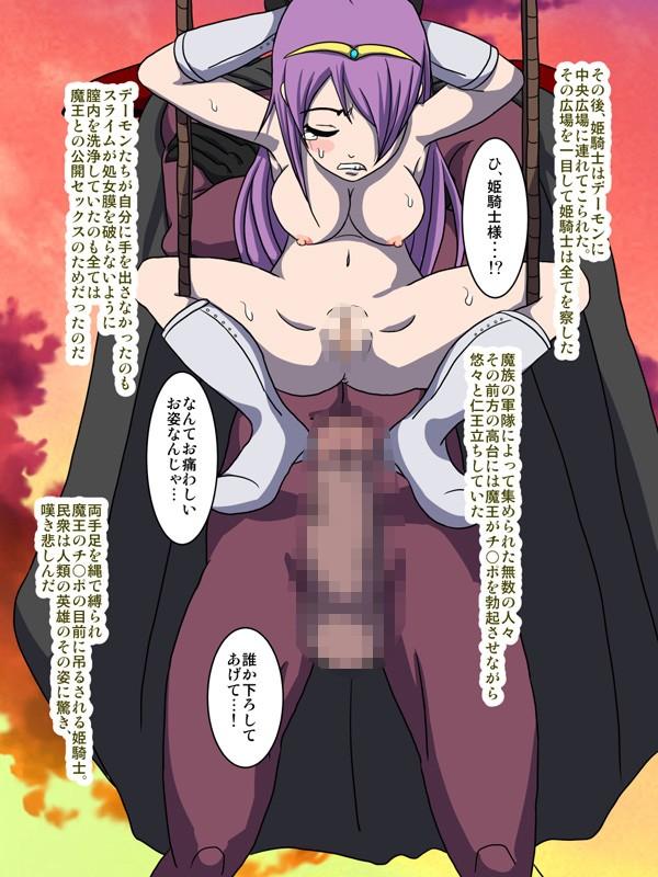 高貴なる姫騎士 モンスター調教