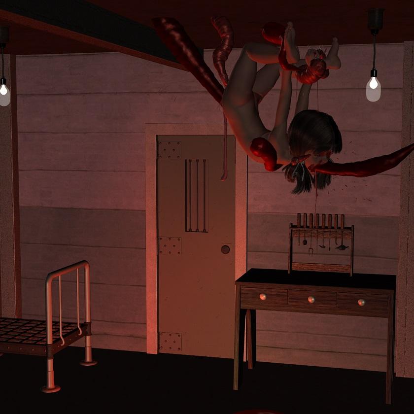 ロ○ータ姫の串刺し拷問