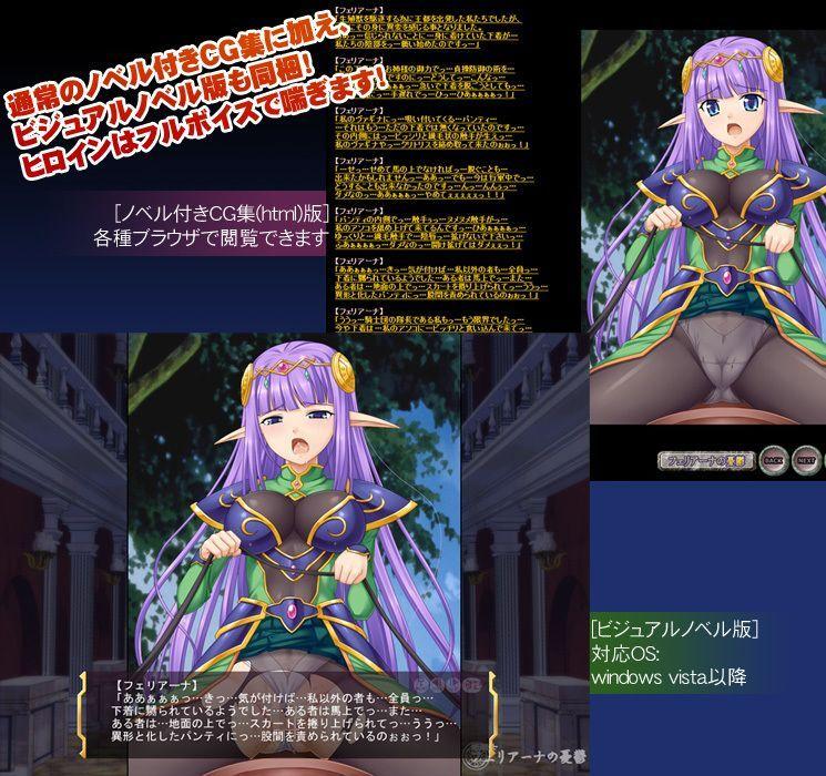 姫騎士フェリアーナの憂鬱版